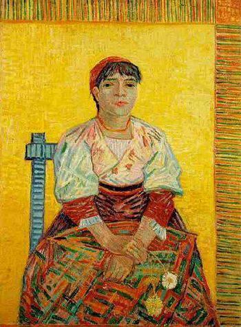 """""""L'italiana"""" di Vincent Van Gogh"""