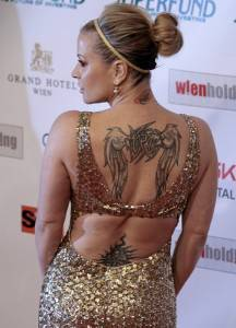 Anastacia al Women's World Awards del 2009 a Vienna