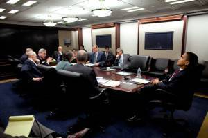 Barack Obama nella Situation Room
