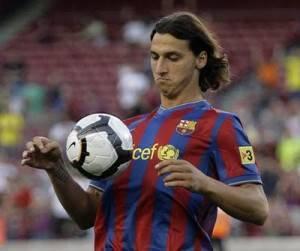 Foto Presentazione Ibrahimovic Barcellona 8