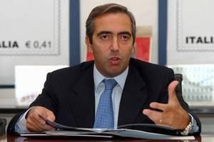 Il capogruppo Pdl in senato Maurizio Gasparri