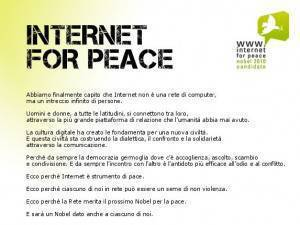 Internet for Peace