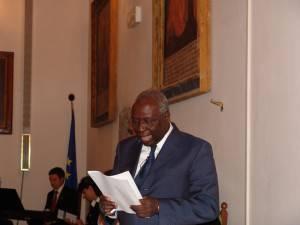 Il presidente della Fao Jaques Diouf