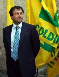 Il presidente Coldiretti Sergio Marini