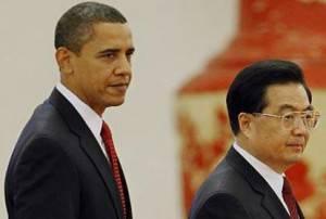 Il Presidente Obama e il Presidente Jintao