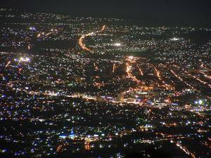 San Salvador di notte