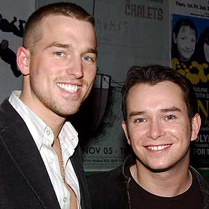 Stephen Gately and Andrew Cowles
