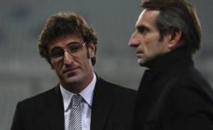 Ciro Ferrara, 42 anni, e Jean Claude Blanc, 46