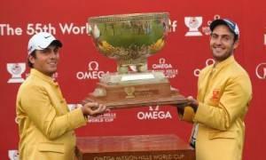 Francesco ed Edoardo Molinari alzano la World Cup