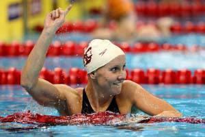La campionessa americana Jessica Hardy