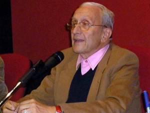 L'avvocato ed ex giudice Ferdinando Imposimato