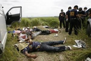 Cadaveri a Mindanao