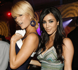 Kim kardashian e Paris Hilton