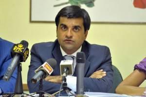 Il Presidente dell'Anm, Luca Palamara