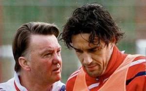 Louis Van Gaal, 58 anni, e Luca Toni, 32