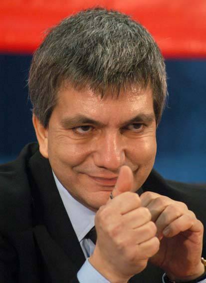 L'attuale Presidente della Regione Puglia, Nichi Vendola