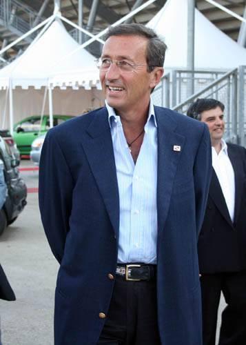 Il Presidente della Camera, Gianfranco Fini
