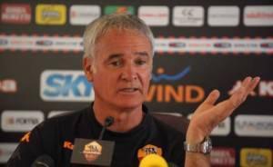 Claudio Ranieri, allenatore della Roma