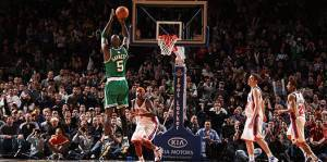 Kevin Garnet da la vittoria ai suo Celtics (NBA.com)