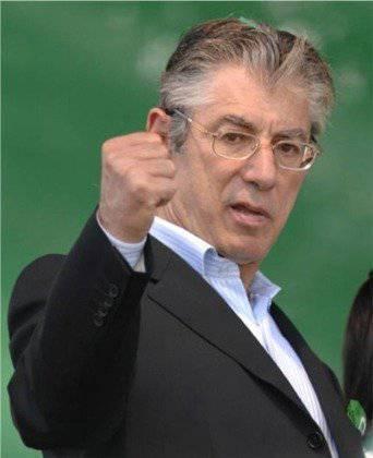 Umberto Bossi, leader de La Lega