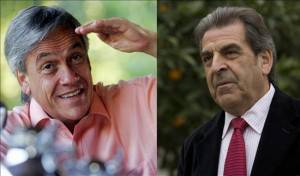 Sebastian Pinera e Eduardo Frei