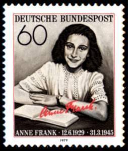 Anna Frank in un francobollo tedesco
