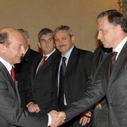 Traian Basescu e Mircea Geoana