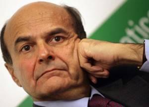 Il neo segretario del Pd Pier Luigi Bersani