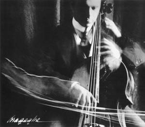 Giulio Bragaglia (1890-1960). The Cellist, 1913