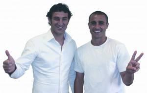 Ciro Ferrara e Fabio Cannavaro