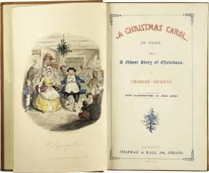 C.Dickens, A Christmas Carol, frontespizio editione 1843