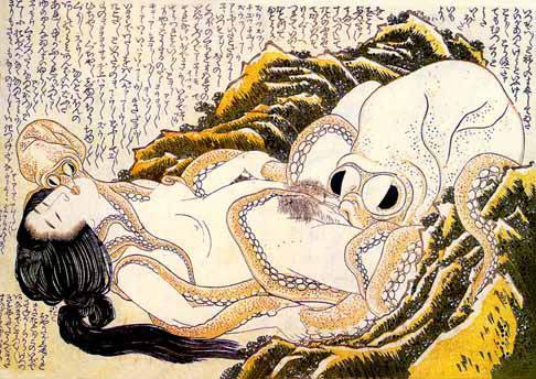 Hokusai: Dream of the fishermans wife <!--adsense-- srcset=