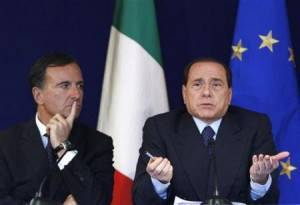 Italy's Foreign Minister Franco Frattini
