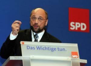 Il tedesco Martin Schulz, presidente S&D