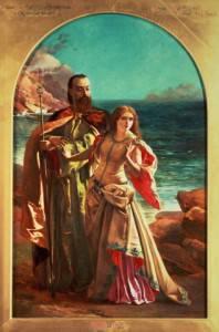 Prospero e Miranda