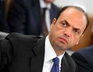 Il ministro della Giustizia Angelino Alfano