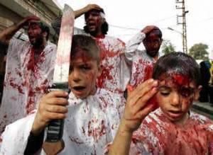 Fedeli sciiti celebrano il mese dell'Ashura