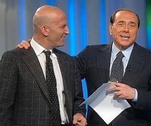 Augusto Minzolini e Silvio Berlusconi