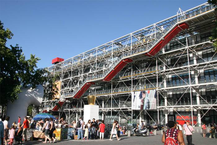 Il Centro Pompidou di Parigi