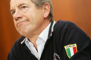 Guido Bertolaso, capo della Protezione Civile