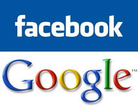 Google collabora con Facebook