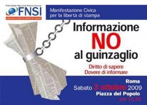 Un manifesto del sindacato per le proteste già avviate dello scorso ottobre