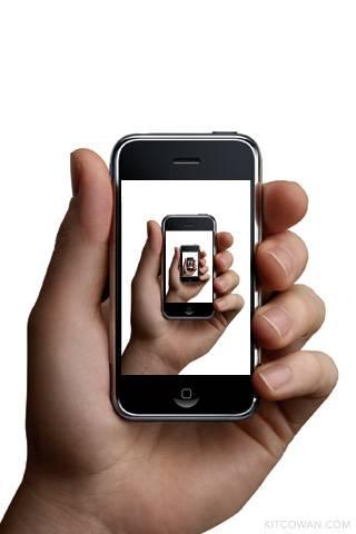 Un modello di Iphone