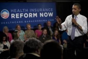 Obama ad un convegno sulla riforma sanitaria