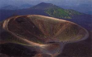 old crater etna