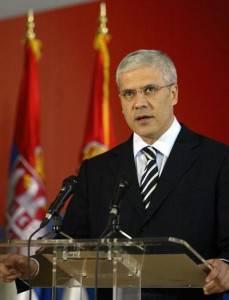 Il Presidente della Serbia Boris Tadic