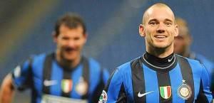 Il sorriso di Wesley Sneijder