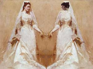 the two brides