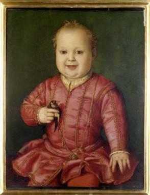 Ritratto di Giovanni di Cosimo I de' Medici - Firenze, Galleria degli Uffizi