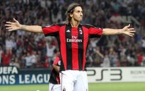 Ibrahimovic, calciatore Milan